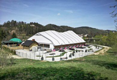 sportowe hale namiotowe